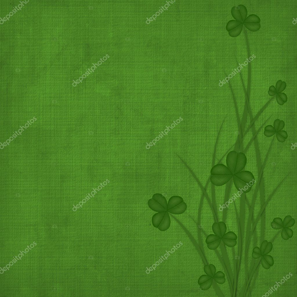 Design for St. Patrick's Day. Flower ornament. — Stock Photo #1932762