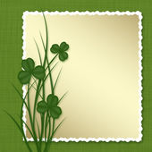 Design för St Patrick's Day — Stockfoto