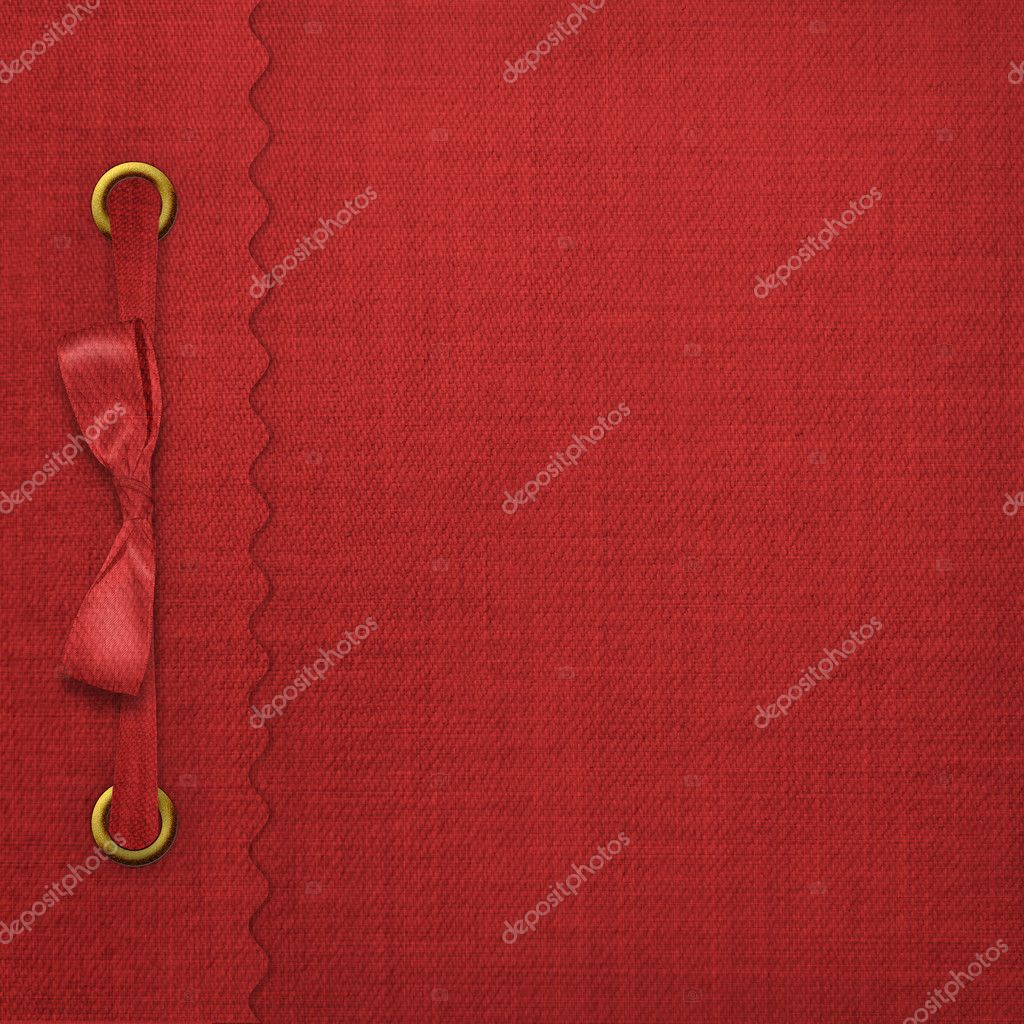 Red cover for an album with photos — Stock Photo #2033158
