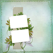 Abstract background with bunch of flower — Stock Photo