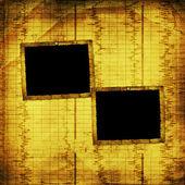 Old grunge paper frames — Stock Photo