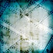 Old papers and grunge filmstrip — Stock Photo