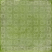 Green ornamental background — Stockfoto