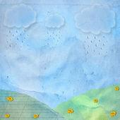 Karte für gruß oder glückwunsch — Stockfoto