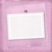 Pink abstract background with paper — Stock Photo