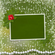 Frame for photo with pearls — Stock Photo #2286637