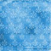 Abstract blue New Year's background — Stock Photo