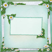 Grunge paper in scrapbooking style — Stock Photo