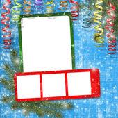 Card for photos — Stock Photo