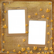 Old  frame on the abstract background - Stock Photo