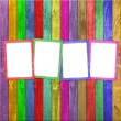 Royalty-Free Stock Photo: Four multicolored frames