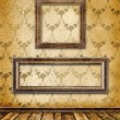 Old gold frames Victorian style — Stock Photo #2312024