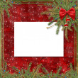 Stockfoto: Greeting card for the holiday
