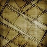 古いペーパーとグランジのフィルム ストリップ — ストック写真