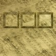 Royalty-Free Stock Photo: Wooden frame in Victorian style