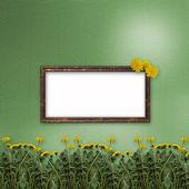 Groene abstracte achtergrond — Stockfoto