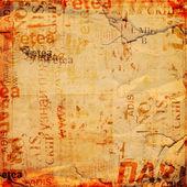 Гранжевый фон со старыми порванными плакатами — Стоковое фото