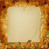 Old grunge album — Stock Photo