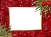 Greeting card for the holiday — Stock Photo