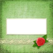 Carta per invito o congratulazione — Foto Stock