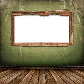 Antika duvar eski penceresi — Stok fotoğraf
