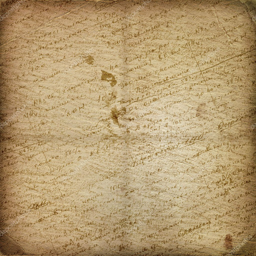 Old manuscript on the alienated paper. Abstract background  Lizenzfreies Foto #2313584