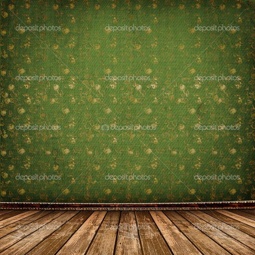 Old room, grunge industrial interior, worn  surface,  Foto Stock #2319170
