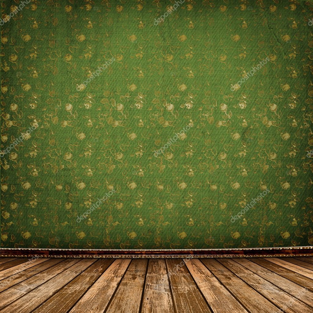Old room, grunge industrial interior, worn  surface, — Stock Photo #2319170