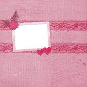 Sevgililer günü kartı kalpler f — Stok fotoğraf