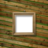 Wooden framework for portraiture — Stock Photo