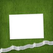 Card for anniversary or congratulation — Stock Photo