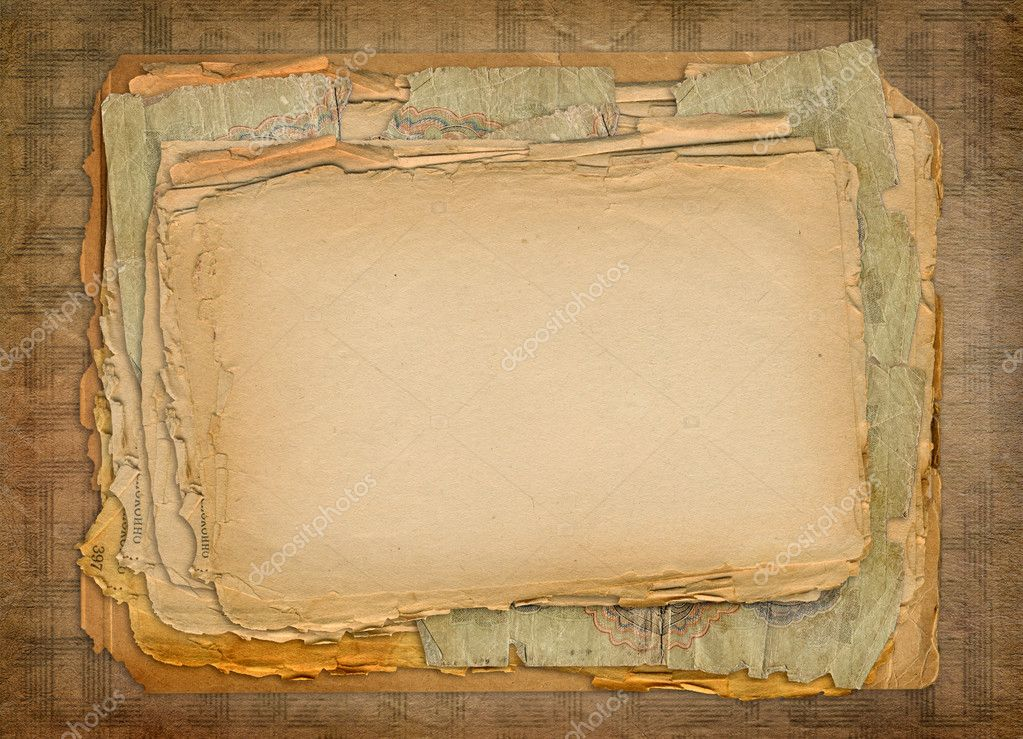 Grunge papers design in scrapbooking style  — Stock Photo #2320892