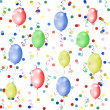 Multicolored background with balloons — Stock Photo #2409357