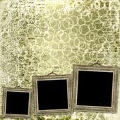 Grunge bilder från gamla papper — Stockfoto