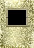 Papper design i scrapbooking stil — Stockfoto