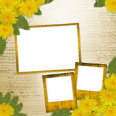 Writing abstract background — Stock Photo