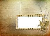Card for invitation or congratulation — Stockfoto