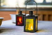 Two lanterns — Stock Photo