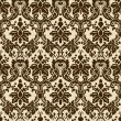 Royalty-Free Stock Vector Image: Brown seamless wallpaper