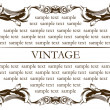 Royalty-Free Stock Векторное изображение: New frame vintage old