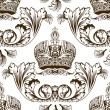 Royalty-Free Stock Vektorfiler: New seamless decor imperial ornament