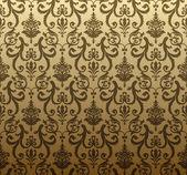 Seamless background brown — Stock vektor