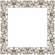 Stock Photo: Raster Vintage frame decor