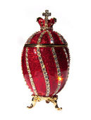 Faberge Egg isolated — Foto Stock