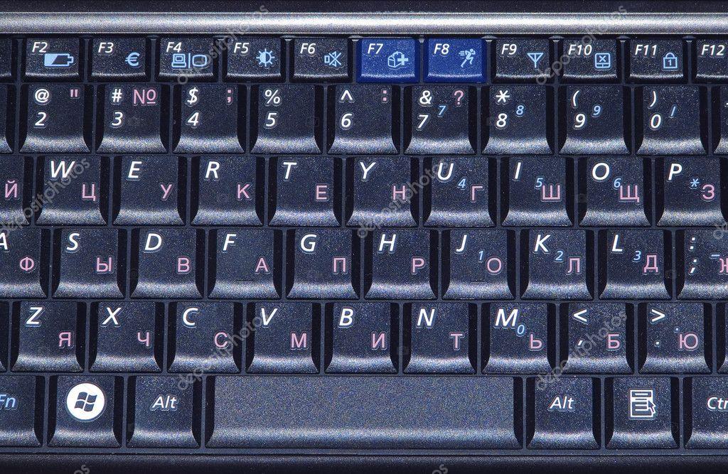 фото клавиш клавиатуры ноутбука
