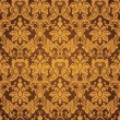 Royalty-Free Stock Imagen vectorial: Gold seamless wallpaper