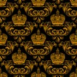 Royalty-Free Stock Imagem Vetorial: New seamless decor gold