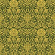 Stock Photo: Raster Seamless Wallpaper Pattern