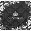 Royalty-Free Stock Immagine Vettoriale: Seamless background floral ornament