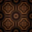 矢量天花板瓷砖无缝复古 — 图库矢量图片